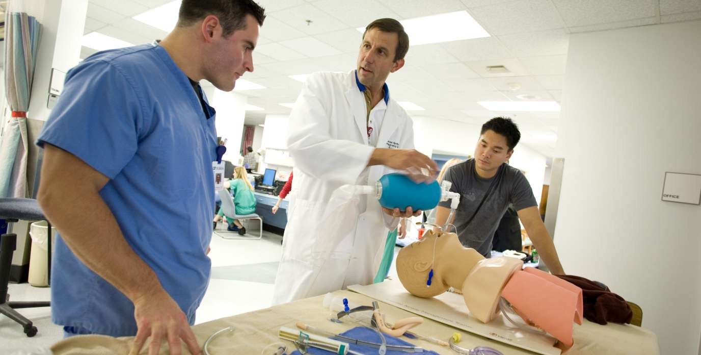 Simulation training at the UF College of Medicine - Jacksonville