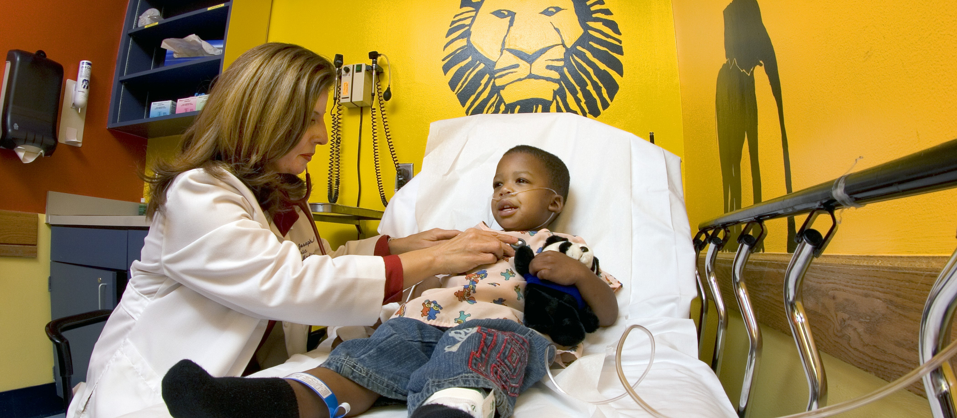University of Florida pediatric emergency medicine physician Dr. Madeline Joseph sees patients at the UF Health Jacksonville Pediatric Emergency Department.